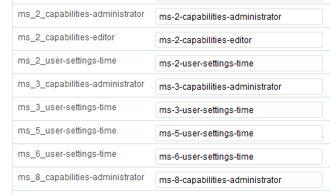 Roles across multi site